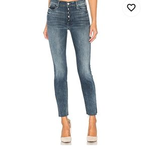 Mother The Fly Cut Stunner Fray Jeans